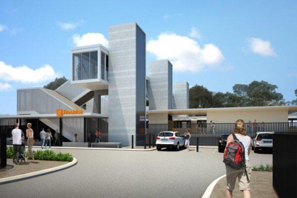 Construction update Rocklea station