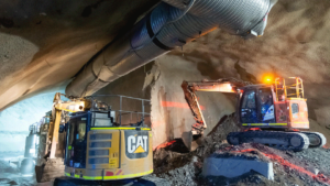 Slide 9 of 14 - Underground excavation at Woolloongabba
