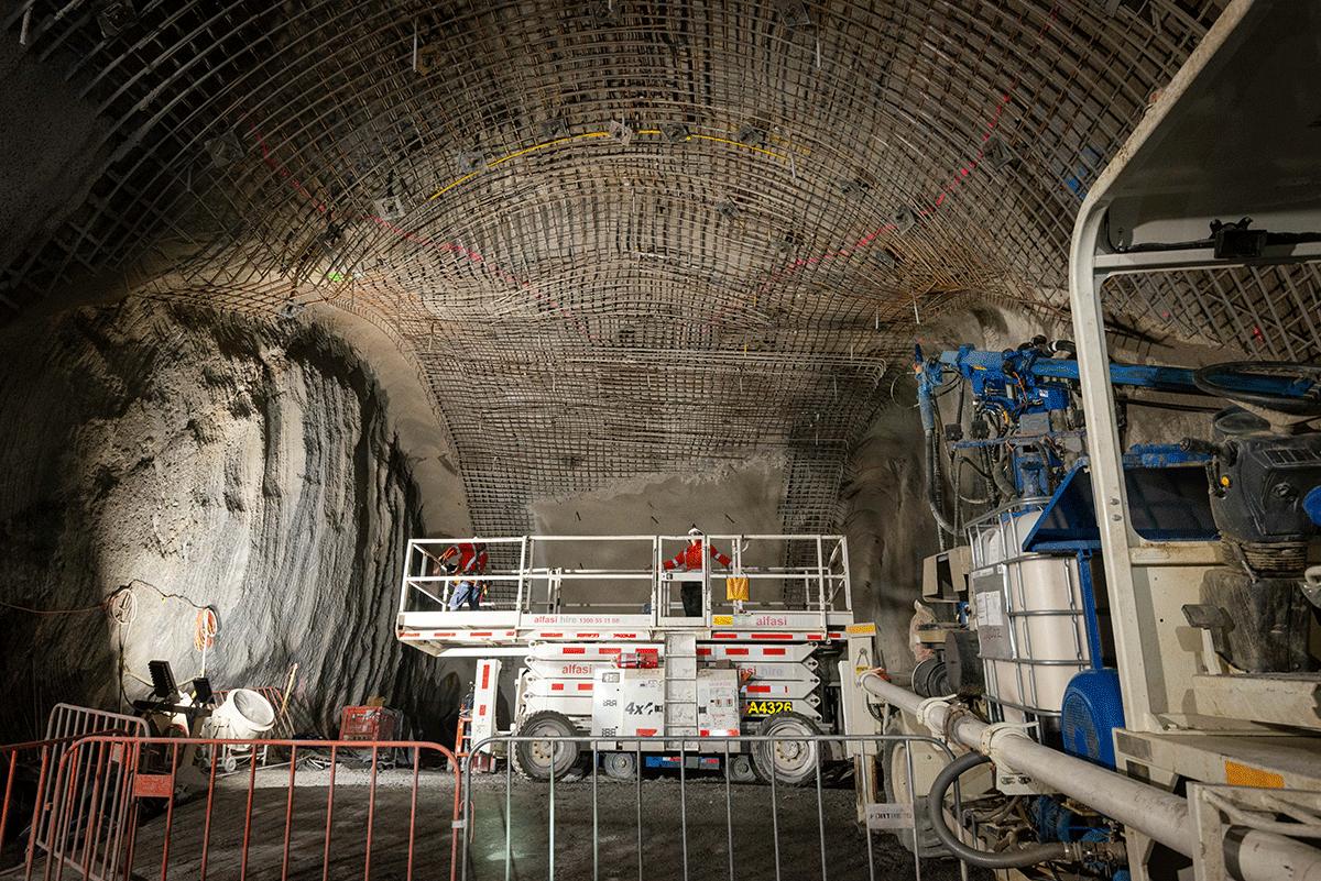 Underground at Albert Street