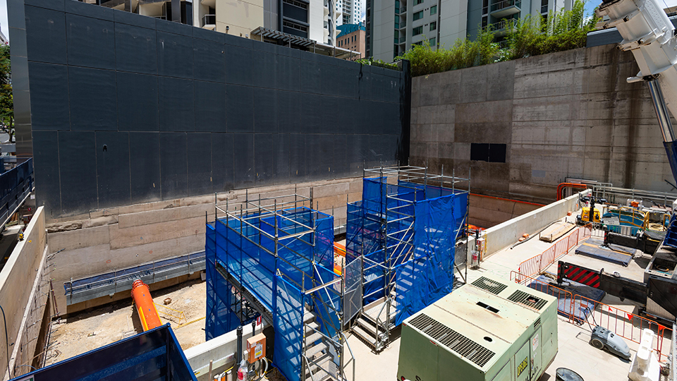 Albert Street site visit - November 2020