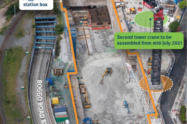 Boggo Road construction update - June 2021