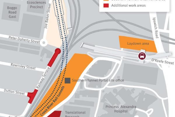Southern Tunnel Portal update - June 2021