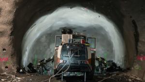 Slide 7 of 14 - Underground excavation at Roma Street - April 2021