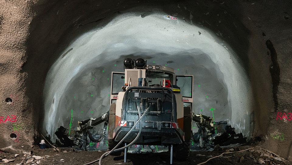 Underground excavation at Roma Street