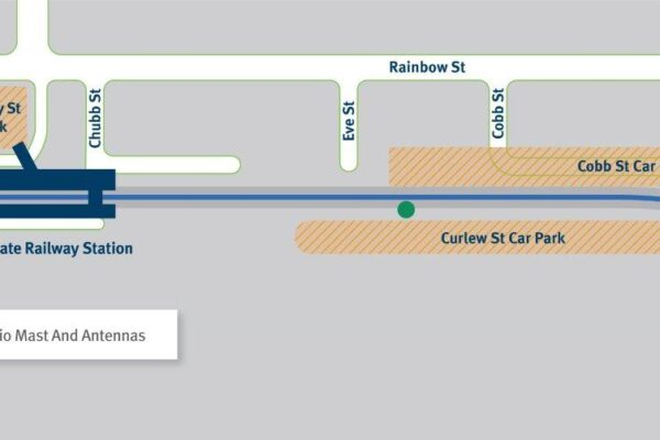 Installation of signalling infrastructure – Sandgate