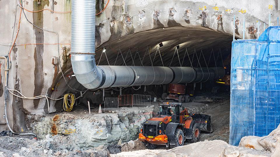 Boggo Road construction works - May 2021