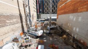 Slide 20 of 42 - Albert Street station northern entrance - April 2021