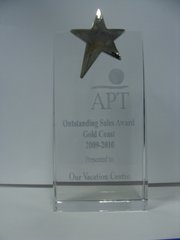 APT Tours Outstanding Sales Awards 2009-2010