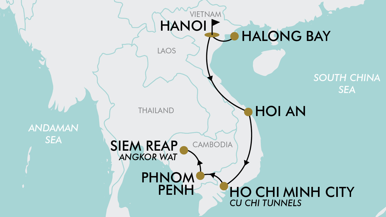 Vietnam And Cambodia Are Two Of South East Asias Most Fascinating Destinations From Hanoi And Halong Bay To Phnom Penh And Angkor Wat The Diverse History