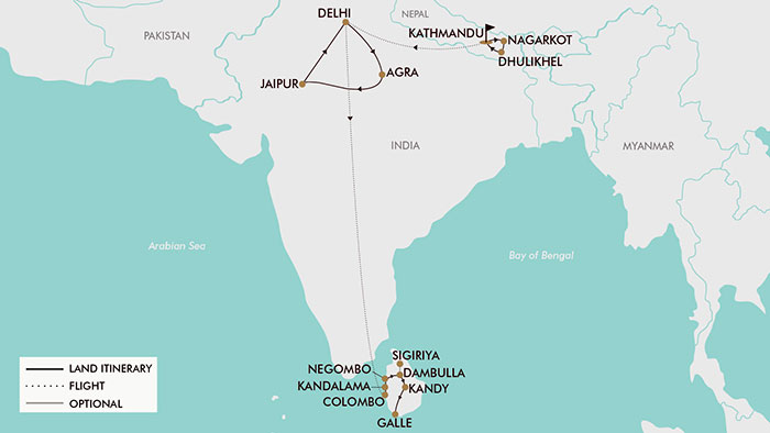 18 Day India Nepal Sri Lanka Tripadeal