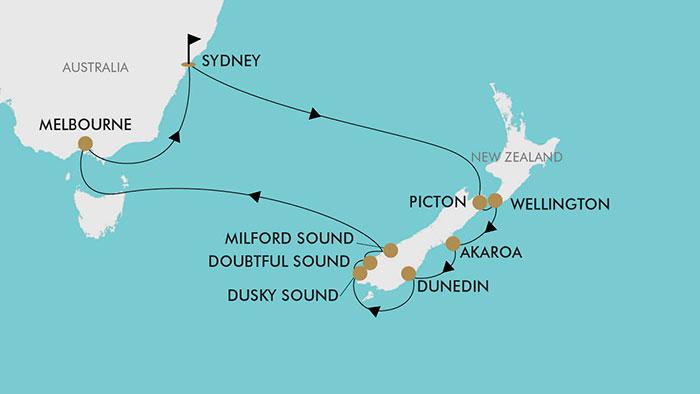 13 Day New Zealand Christmas Cruise | TripADeal