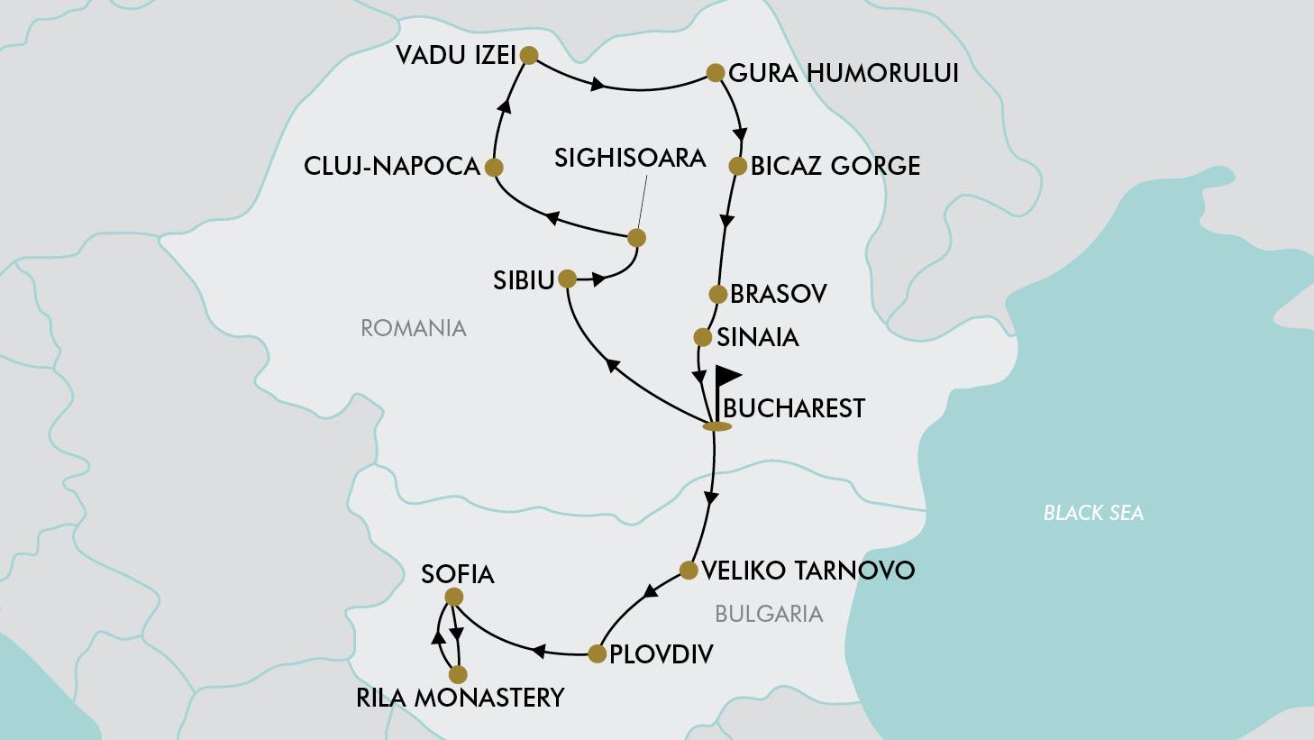20 Day Romania & Bulgaria | TripADeal