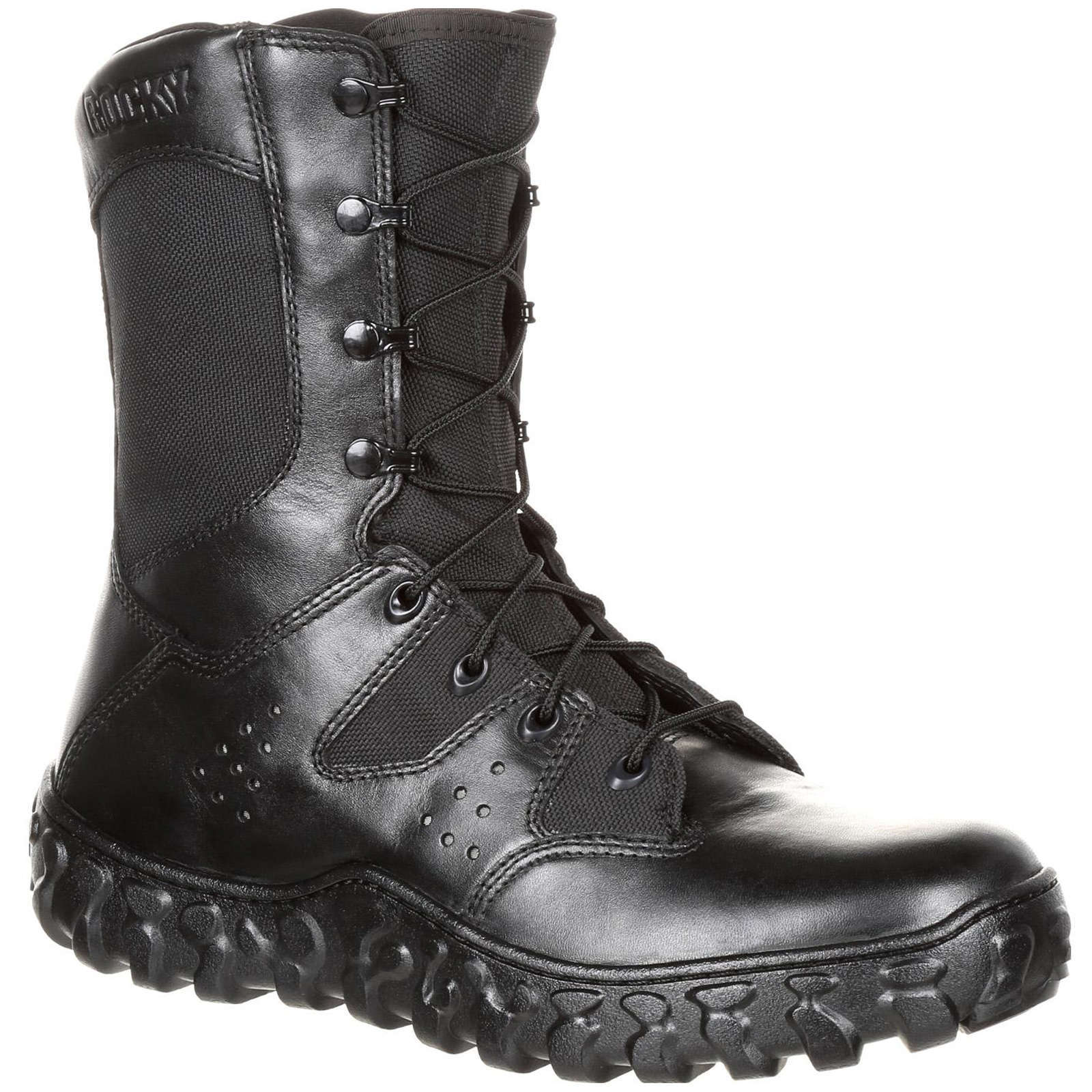 535842723cb Details about Rocky S2V Predator Duty Military Black Triple Stitched USA  Made Boots Premium