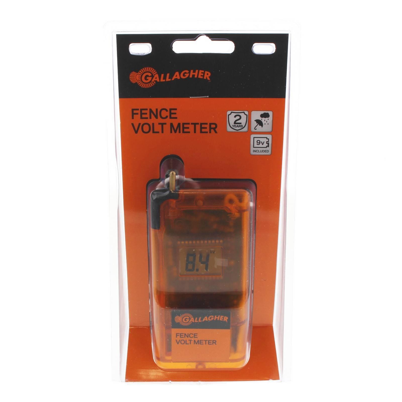 Gallagher G50331 Dvm3 Digital Volt Meter Electric Fencing