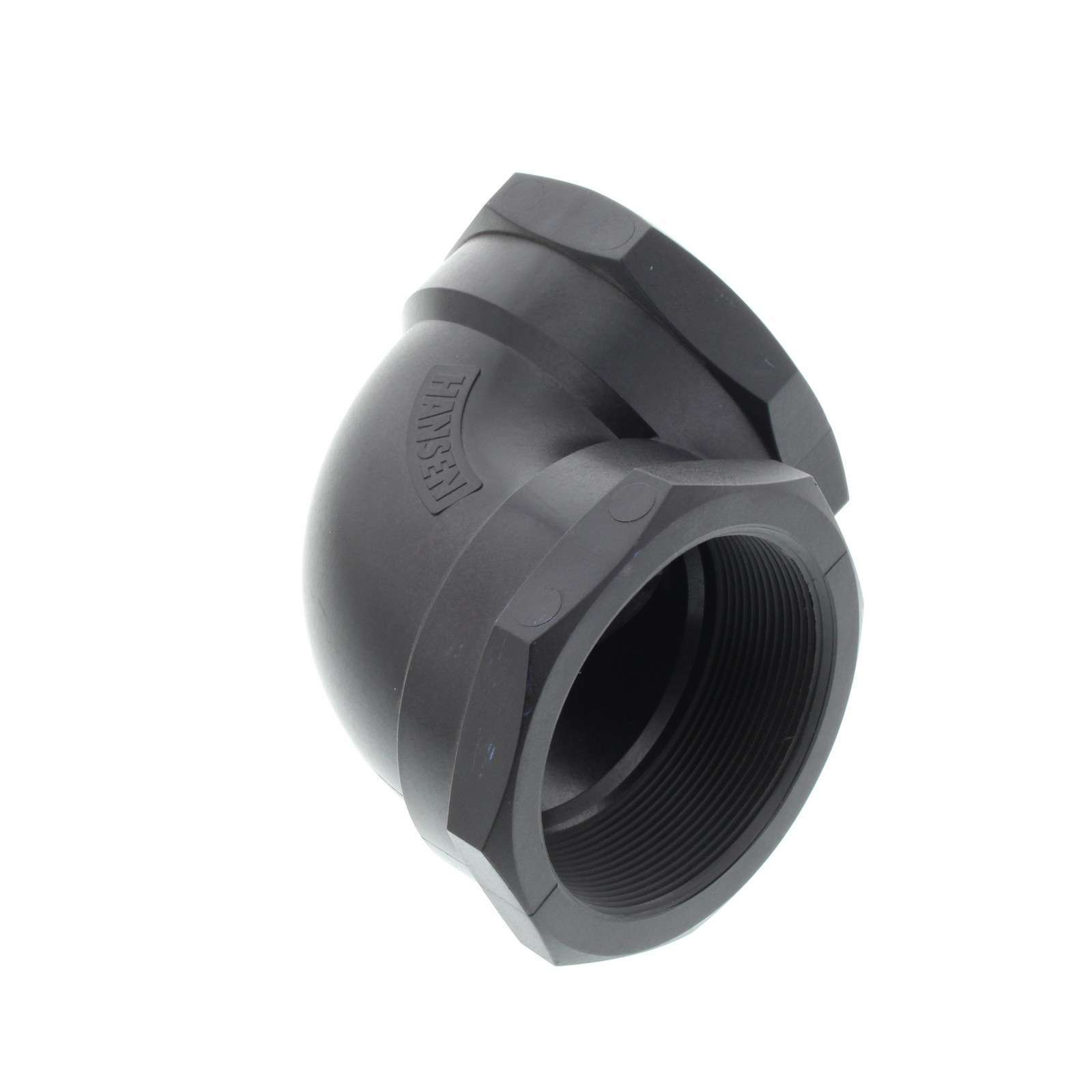 elbow 80mm female 90 degree bsp plumbing irrigation poly fitting water hansen 713541100213 ebay. Black Bedroom Furniture Sets. Home Design Ideas