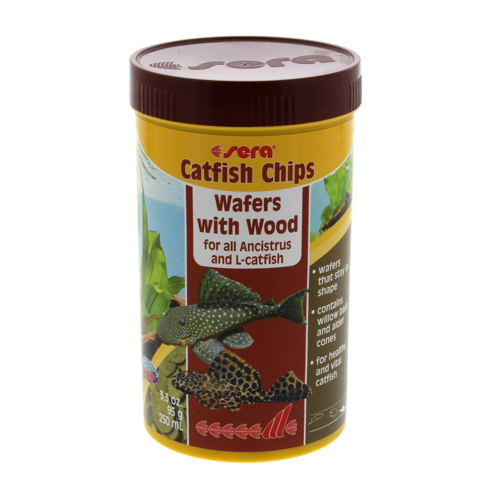 Catfish Chips 95g Aquarium Industries Fish Tank Aquarium Sera