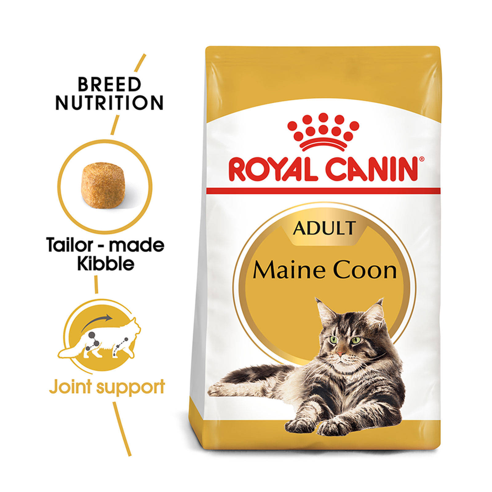 Details about Royal Canin Maine Coon 10kg Cat Food Breed Specific Premium  Quality Dry Food