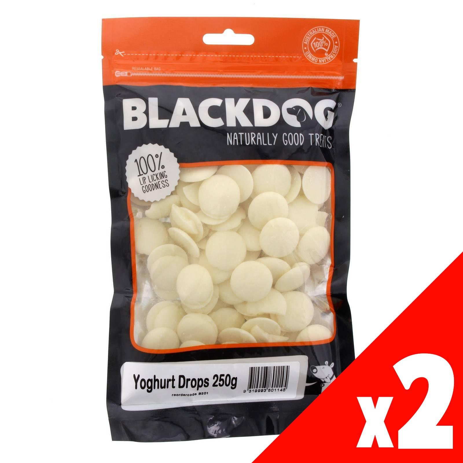 Yoghurt Drops BlackDog 250g x 2 Dog Treat Tasty Healthy