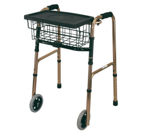 Deluxe Basket and Tray to suit Walking Frames | Cubro
