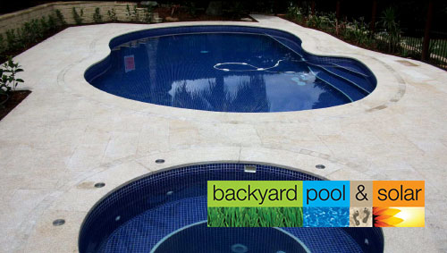 Backyard Pool and Solar
