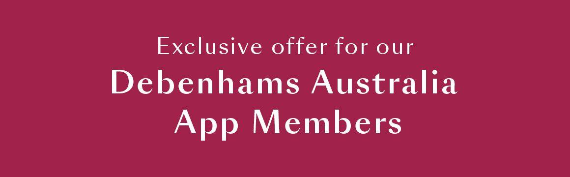 Exclusive App Member offer 3