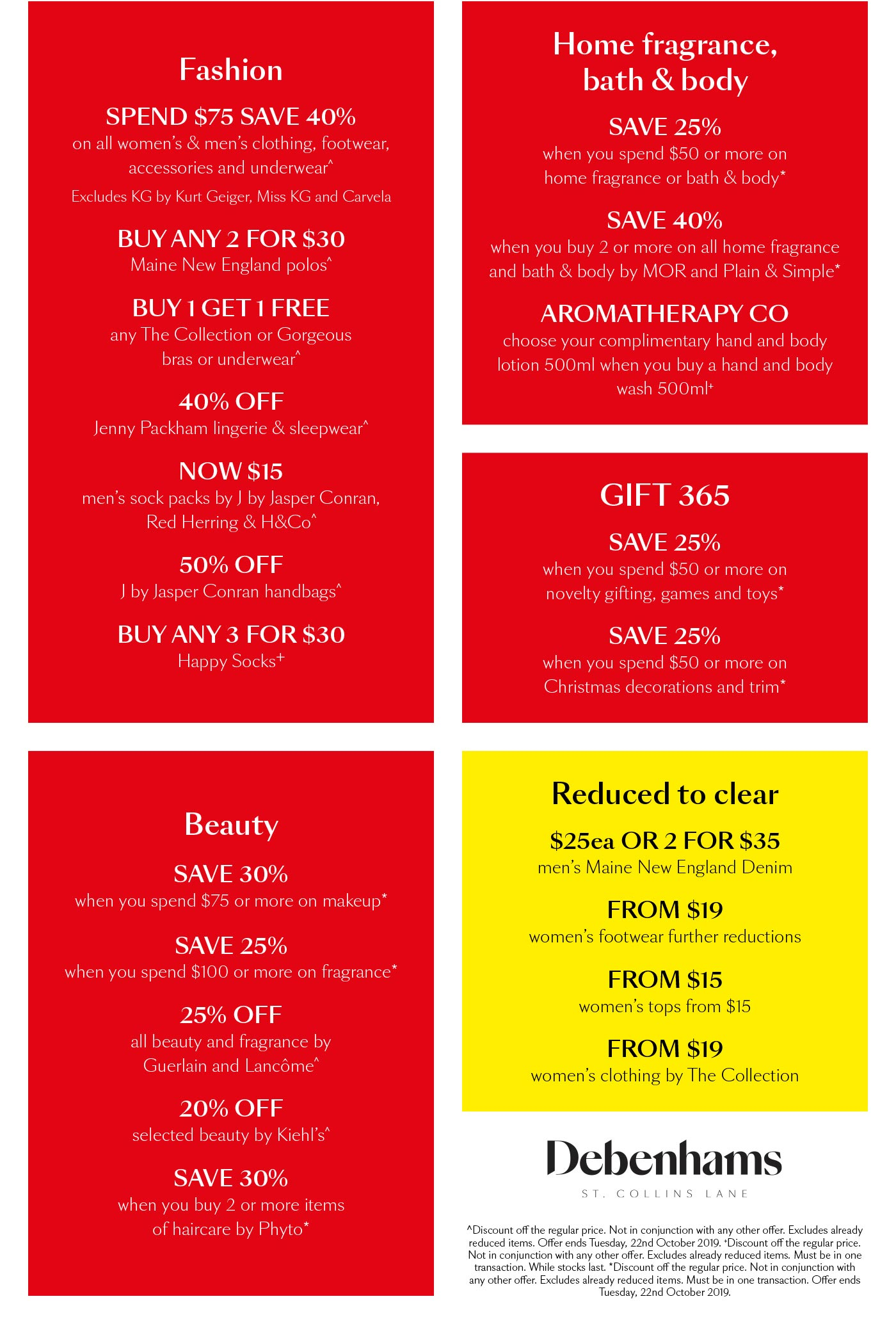 SALE NOW ON! View all offers here