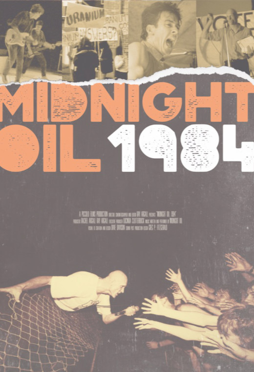 Midnight Oil: 1984 Poster