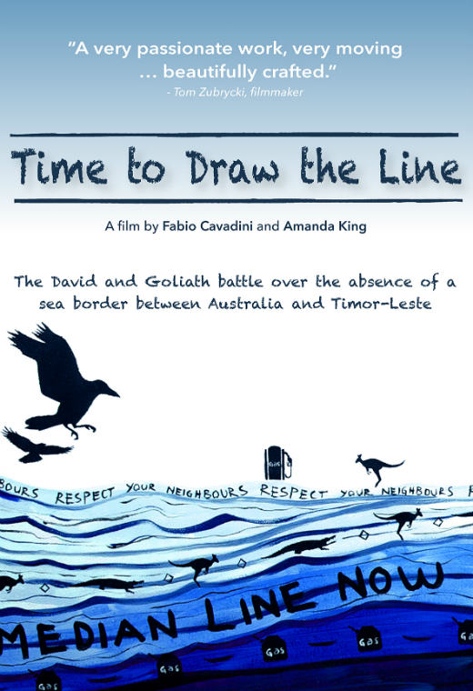 Time to Draw the Line Poster
