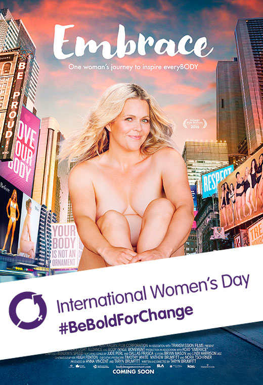 Embrace International Women's Day Poster