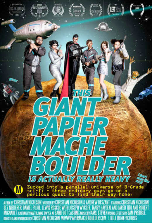 This Giant Papier Mache Boulder is Actually Really Heavy Poster