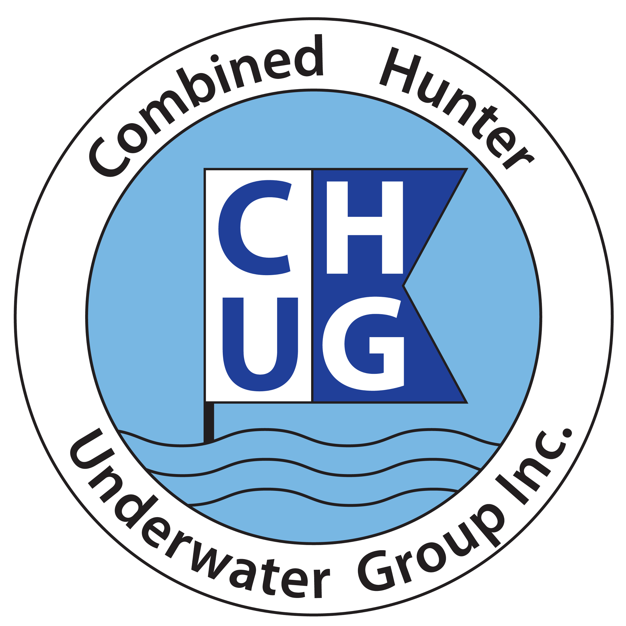 Combined Hunter Underwater Group Poster