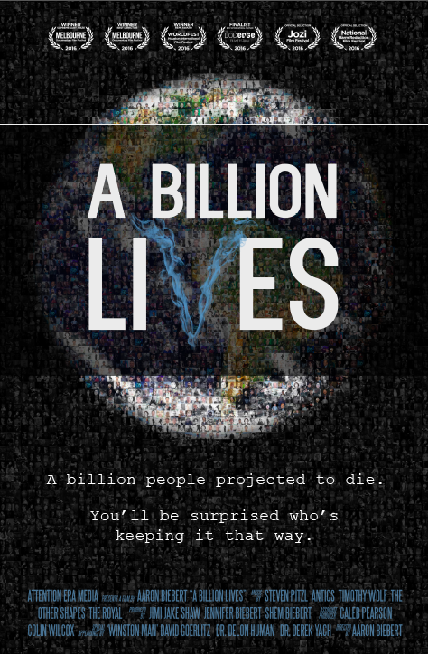 A Billion Lives Poster