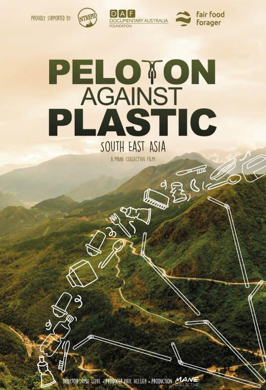 Peloton Against Plastic Poster