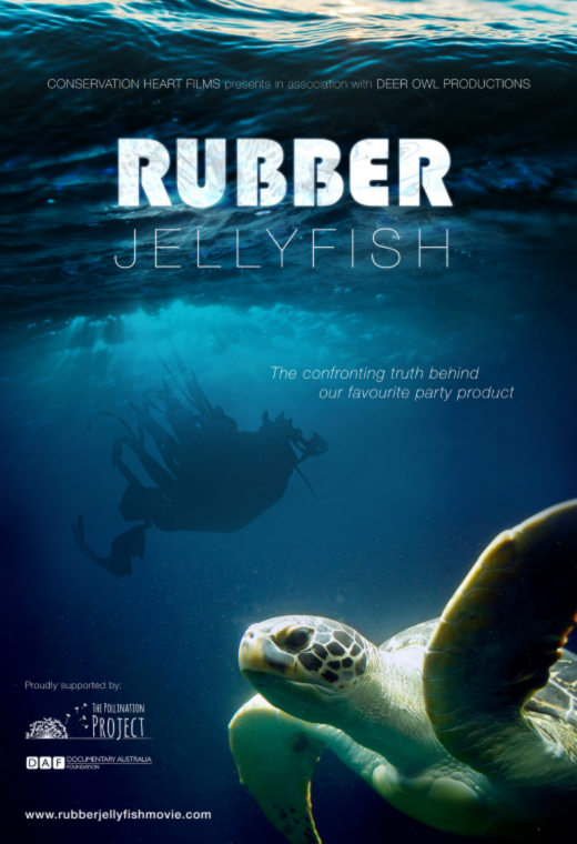 Rubber Jellyfish Poster