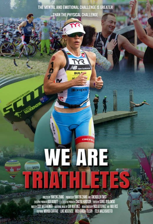 We Are Triathletes Poster
