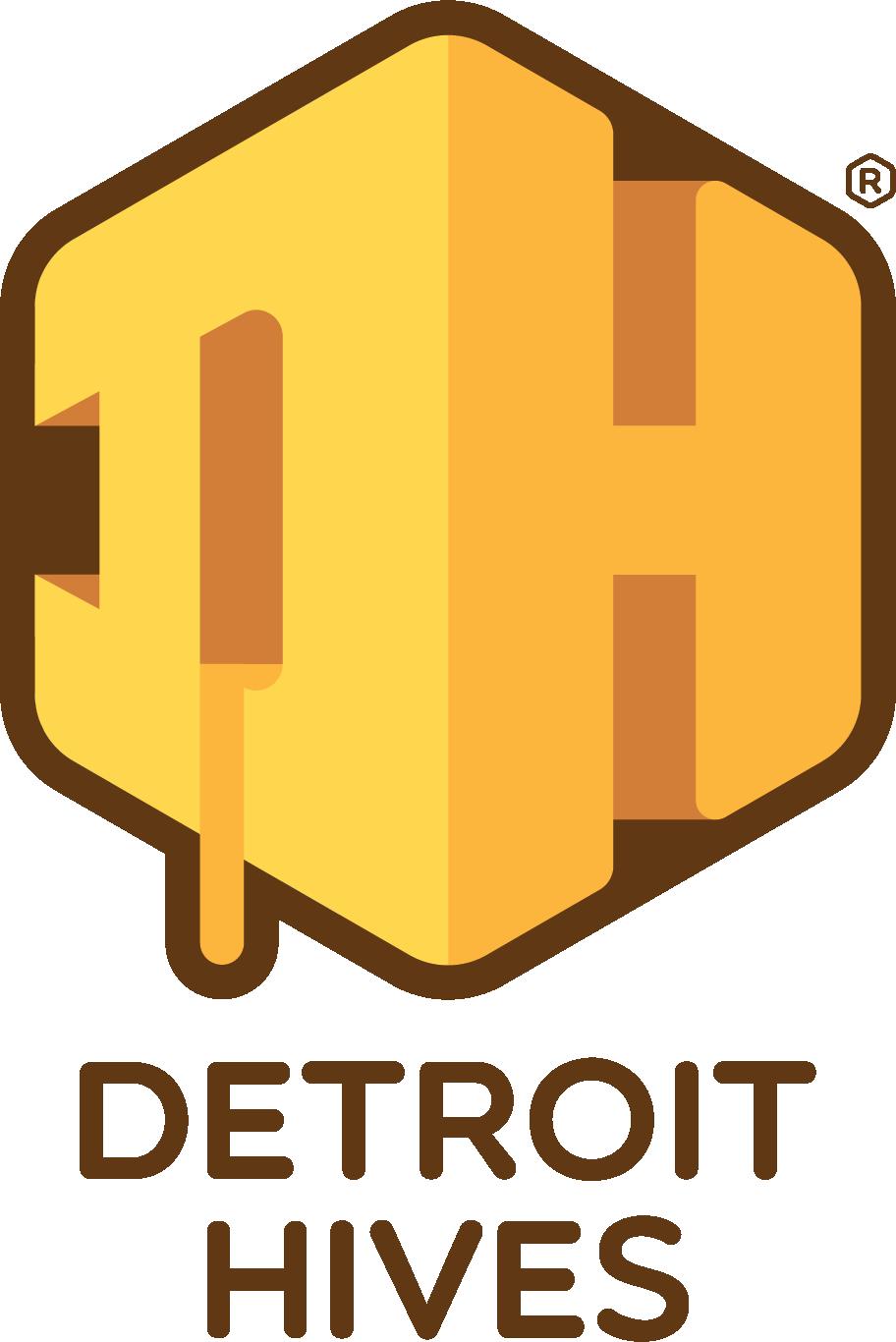 Detroit Hives Poster