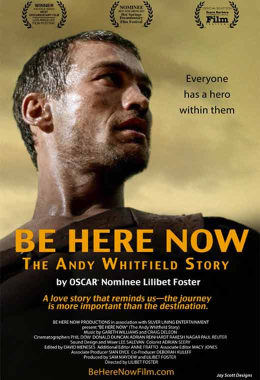 Be Here Now: The Andy Whitfield Story Poster