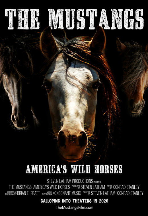 The Mustangs: America's Wild Horses Poster