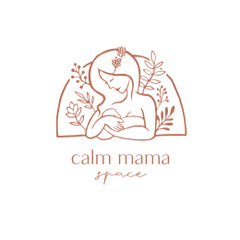 Calm Mama Space Poster