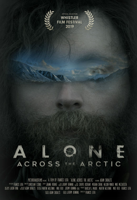 Alone Across The Arctic Poster