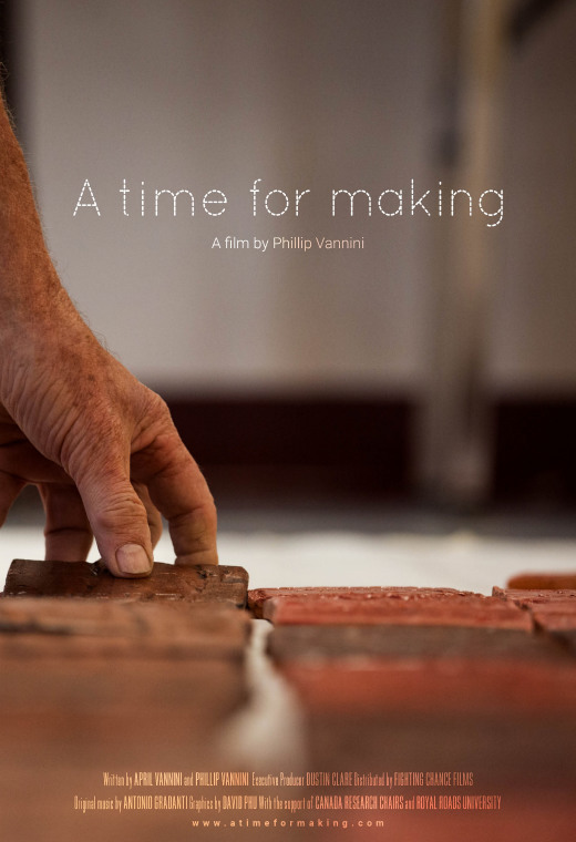 A Time For Making Poster
