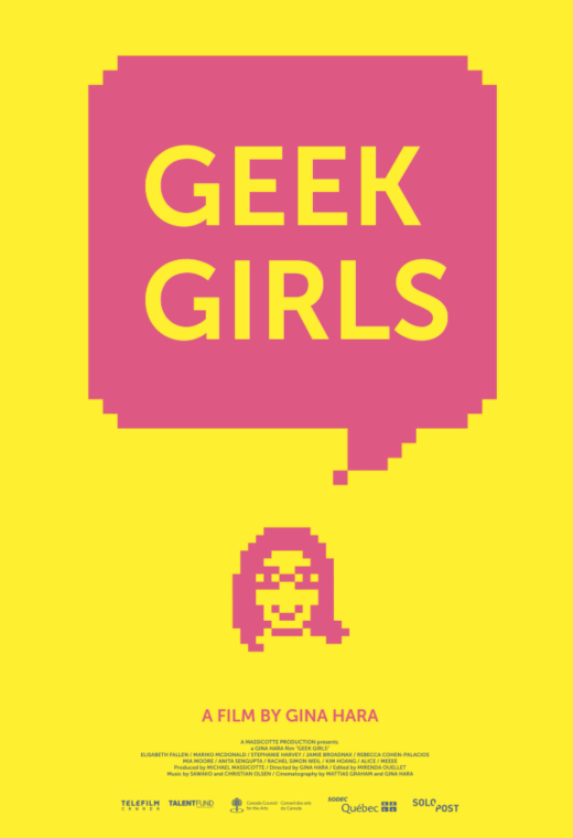 Geek Girls Poster