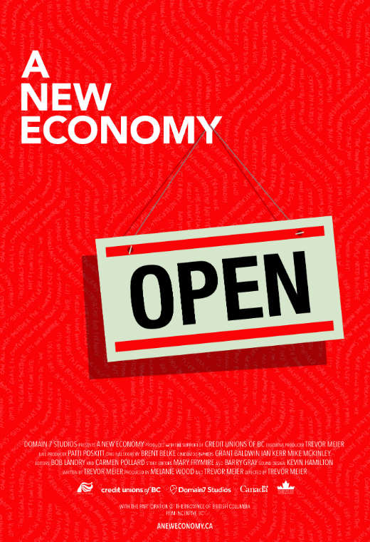 A New Economy Poster
