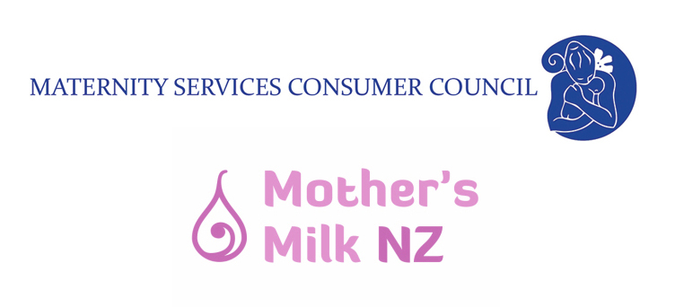Mothers Milk NZ in conjunction with Maternity Services Consumer Council Poster