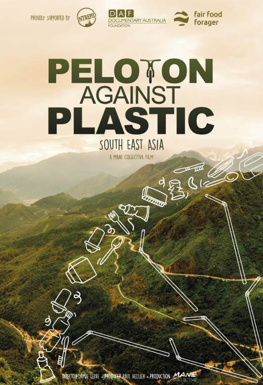 Peloton Against Plastic Poster