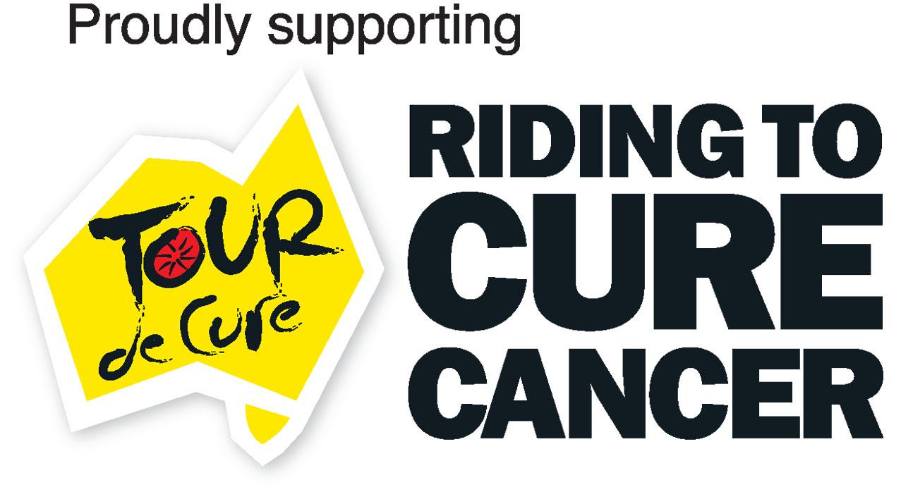 Allan for Tour De Cure Poster