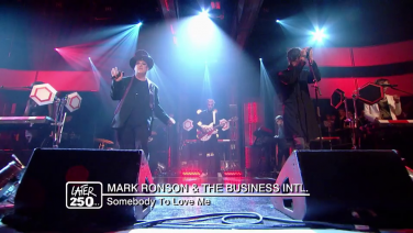 Later With Jools Holland: Mark Ronson & The Business Intl's