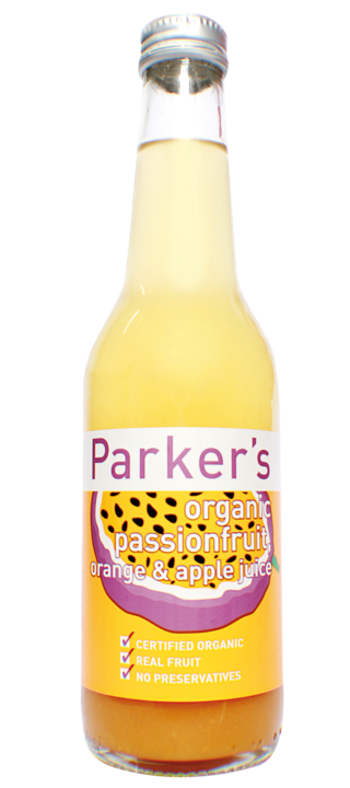 Organic Passionfruit, Orange & Apple: 275ml