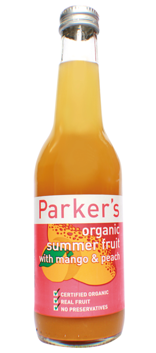 Organic Mango & Peach: 275ml