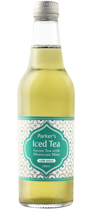 Green Tea with Moroccan Mint: 330ml